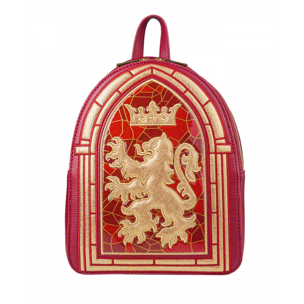 Harry Potter Danielle Nicole Gryffindor Stained Glass Backpack