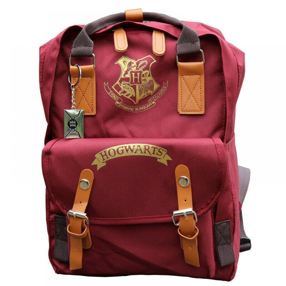 Harry Potter Hogwarts Crest Backpack School Bag