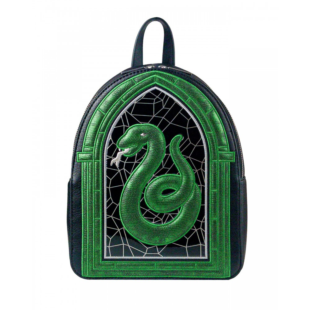 Harry Potter Danielle Nicole Slytherin Stained Glass Backpack
