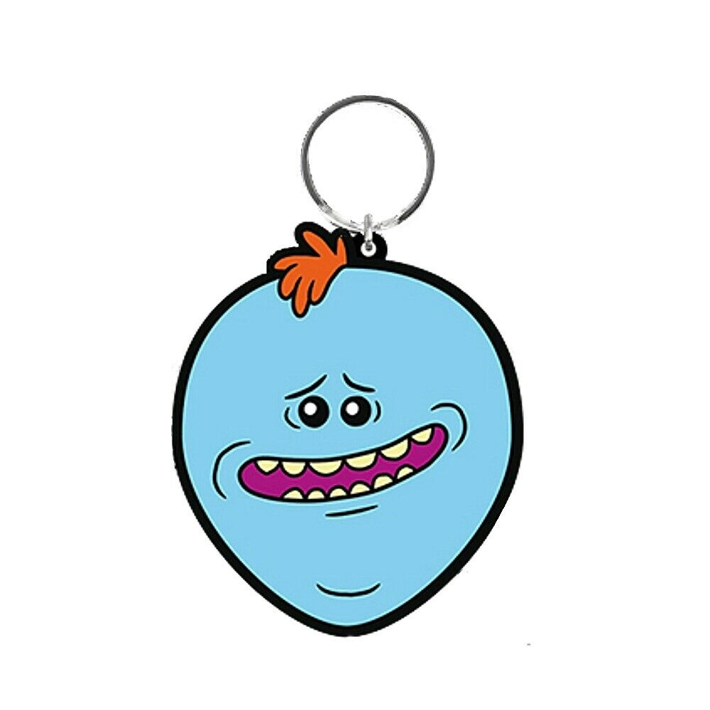 Rick And Morty Mr. Meeseeks Keychain