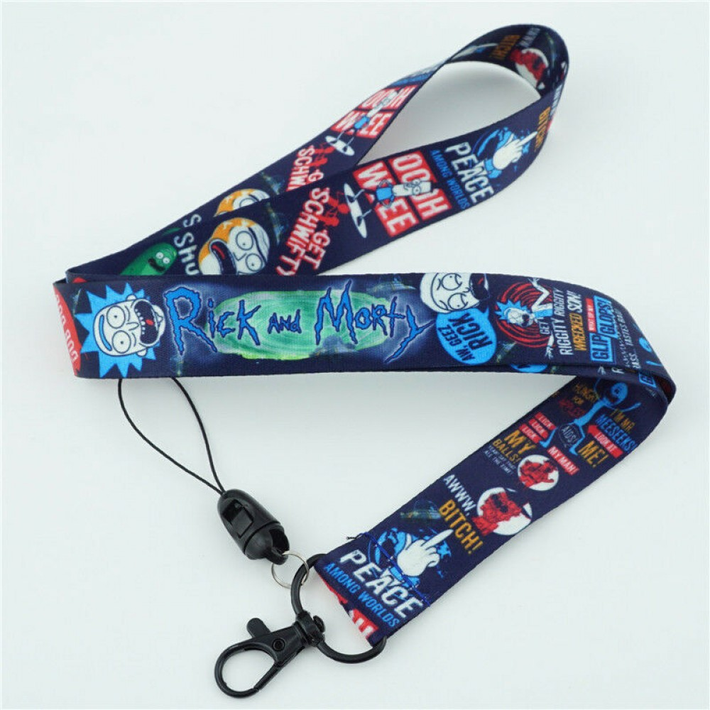 Rick And Morty Cell Phone Rope