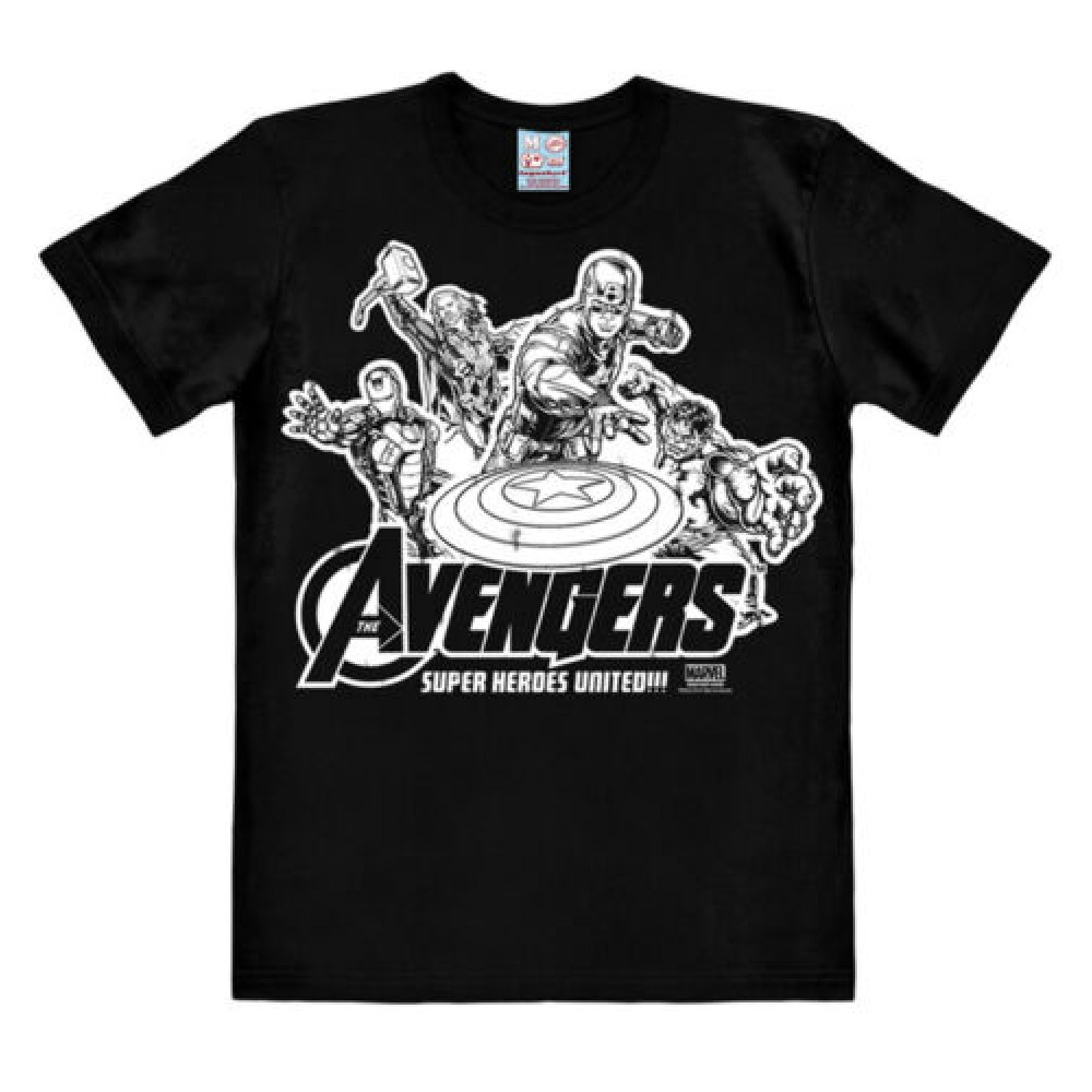 Avengers Super Heroes United Comics T-shirt