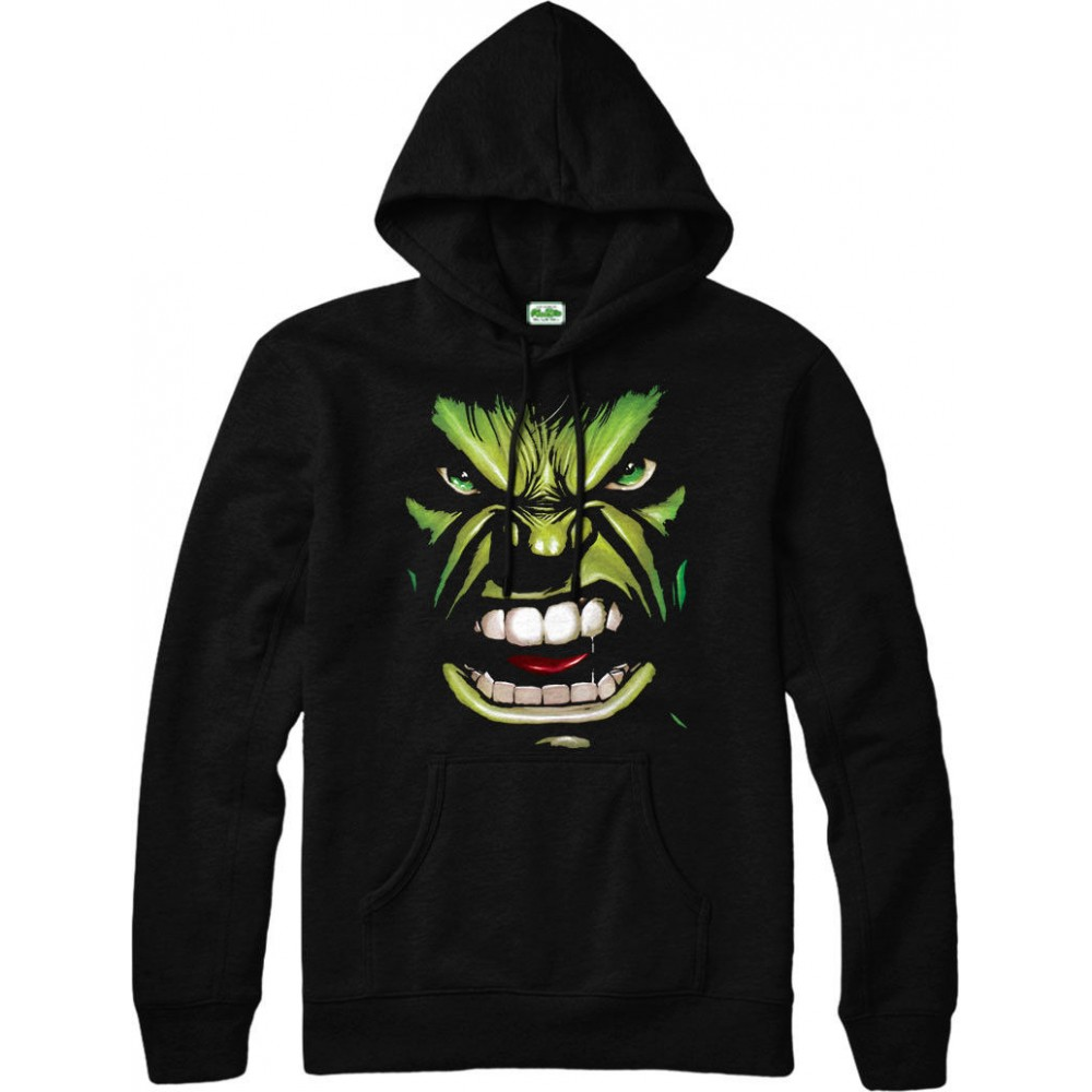 The Incredible Hulk Smash Angry Hoodie