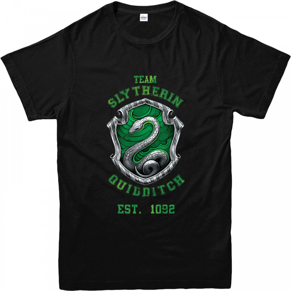 Harry Potter Quidditch Team Slytherin Kid's T-shirt