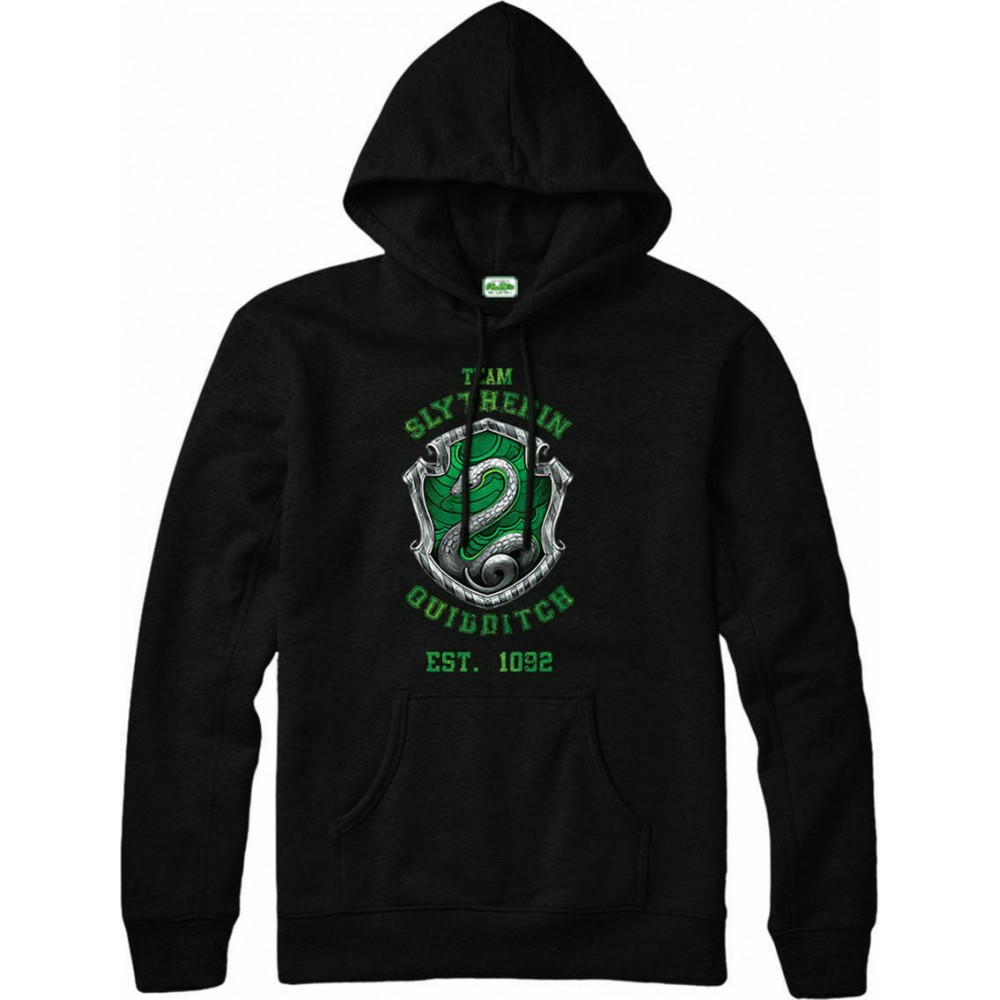 Harry Potter Slytherin Quidditch Team House Hoodie
