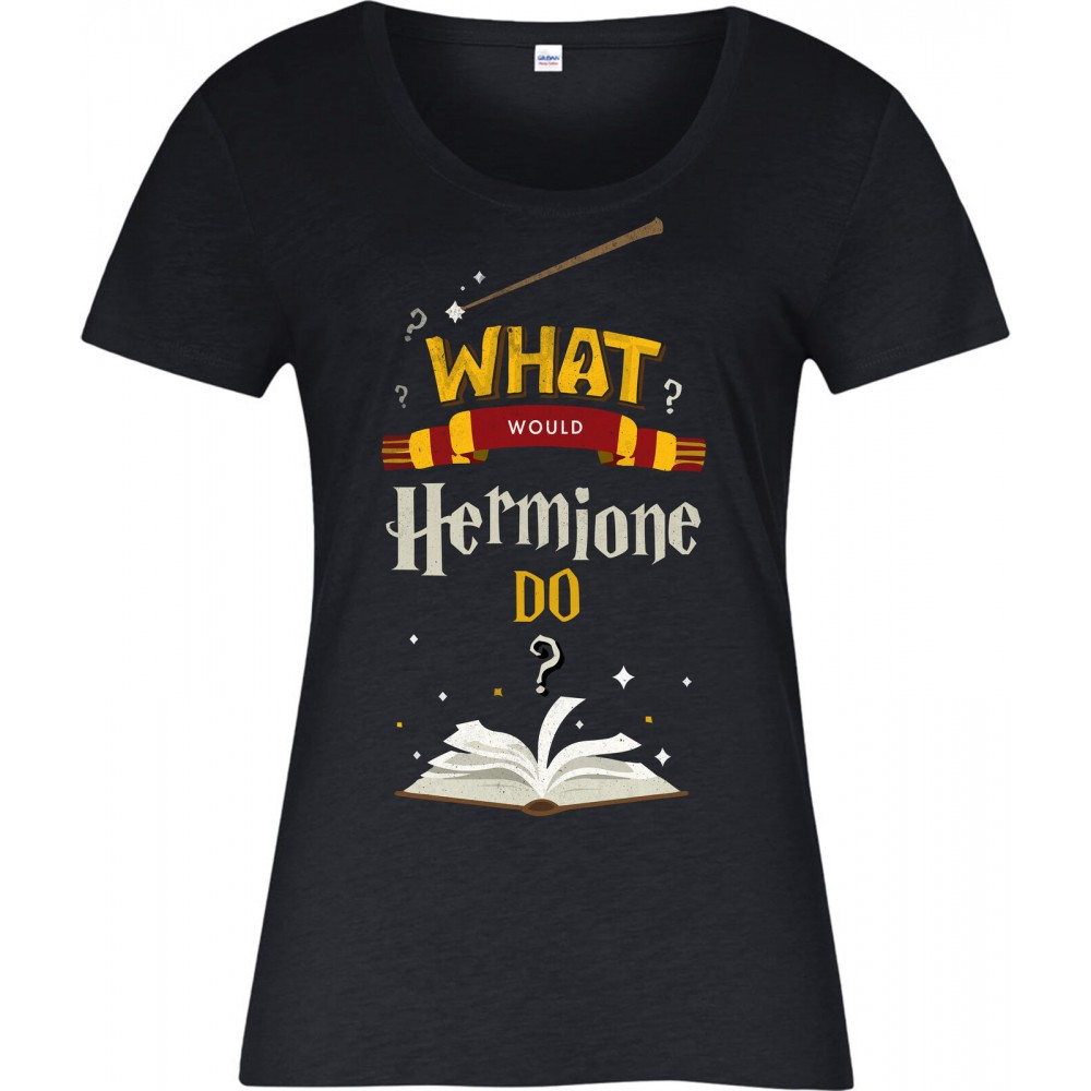 Harry Potter What Would Hermione Do Womens T-shirt