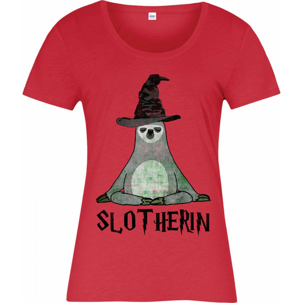 Harry Potter Slotherin Womens T-shirt