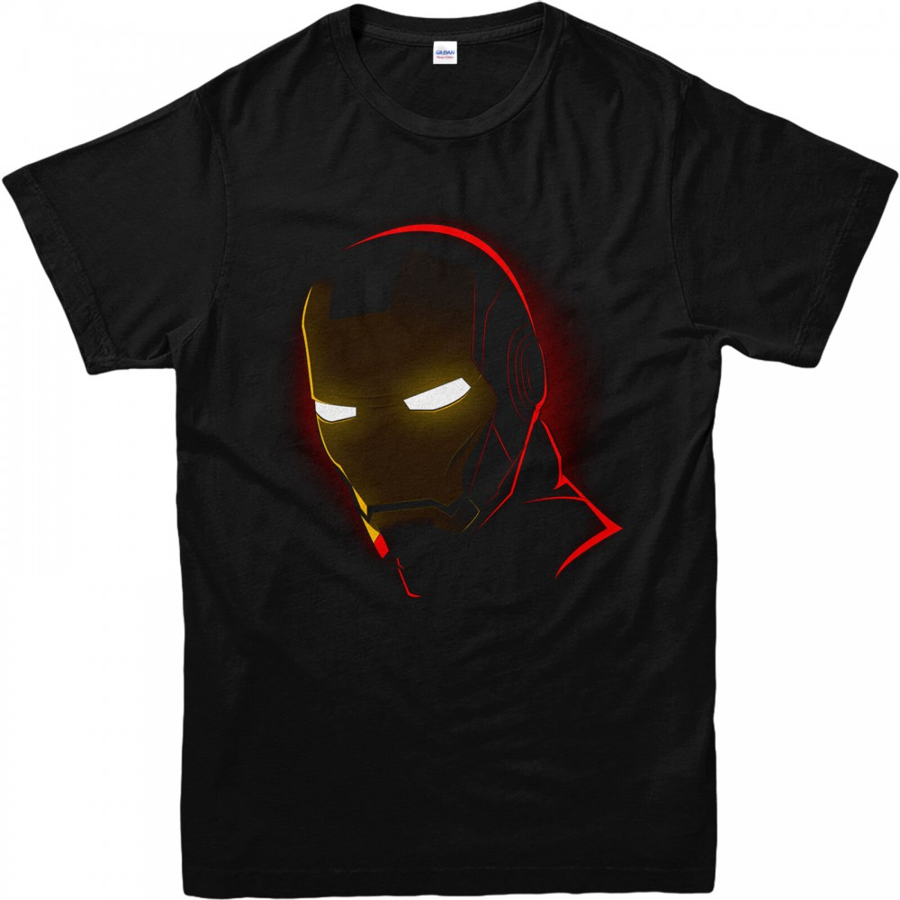 Iron Man Mask Kids T-shirt