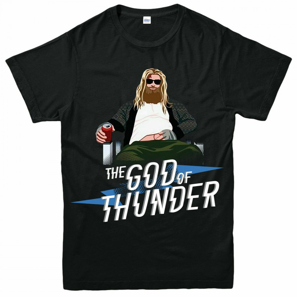 The God Of Thunder - Fat Thor Kids T-Shirt