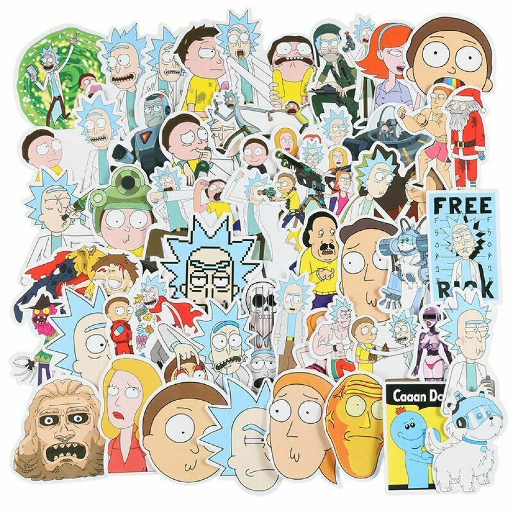 Rick And Morty Meme Funny Stickers
