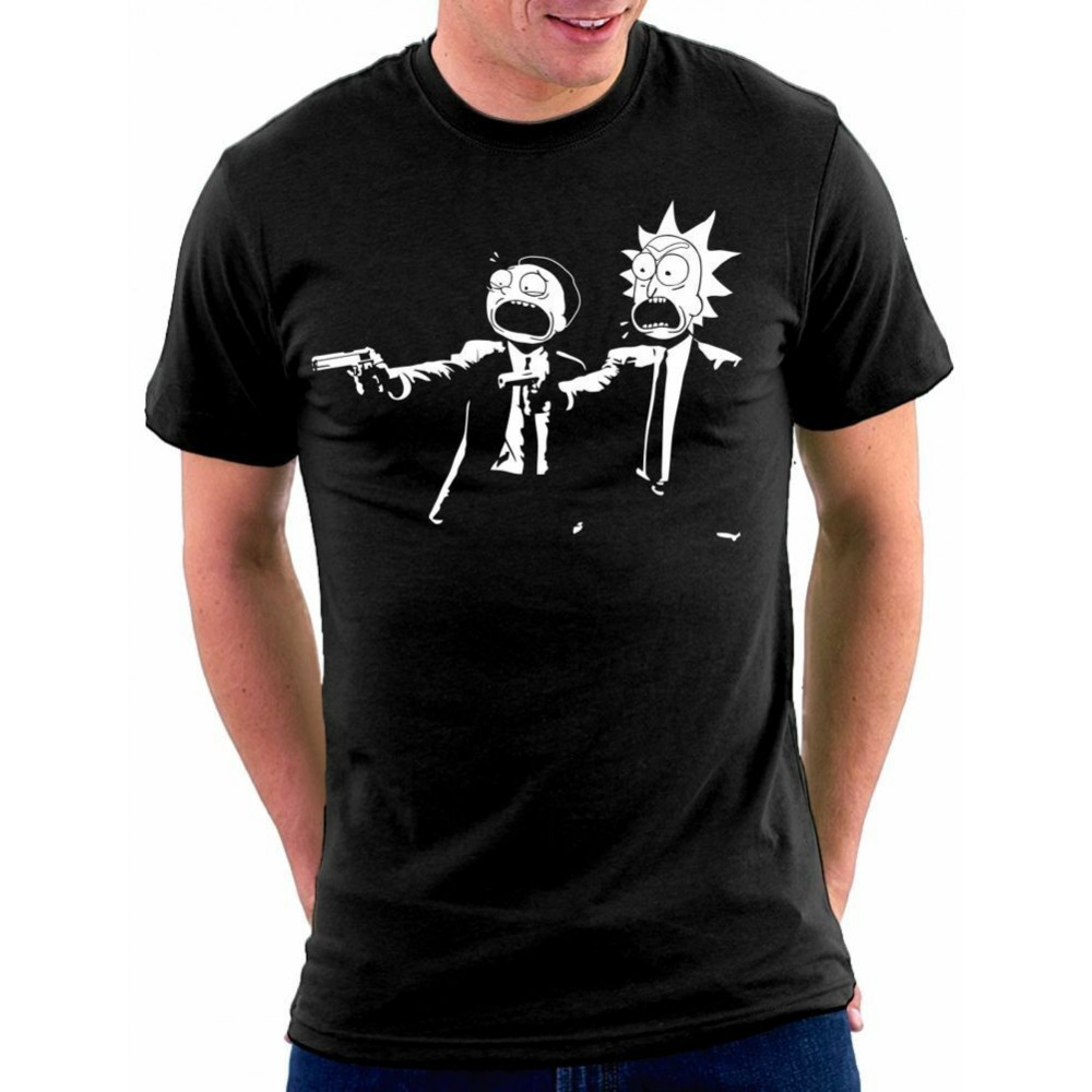 Rick And Morty Fiction T-Shirt