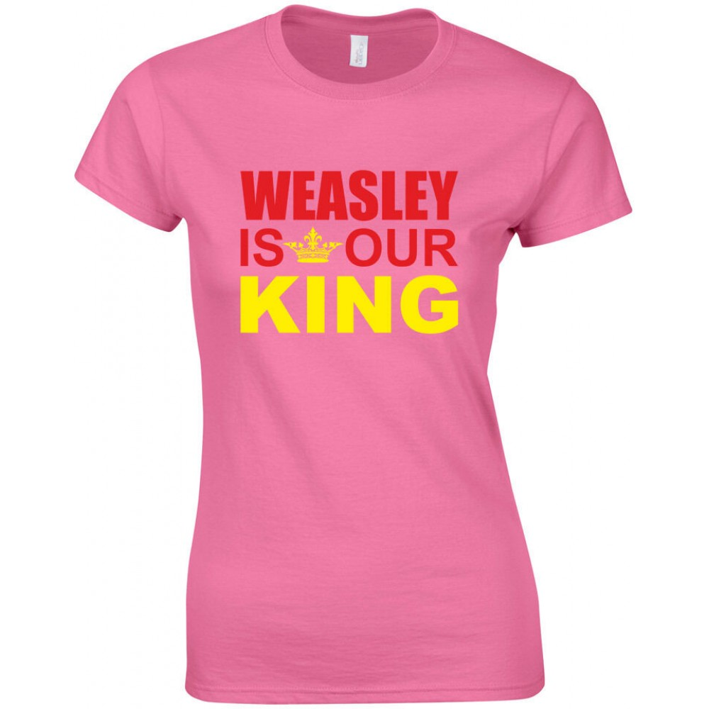 Harry Potter Ron Weasley is our King Women's T-shirt