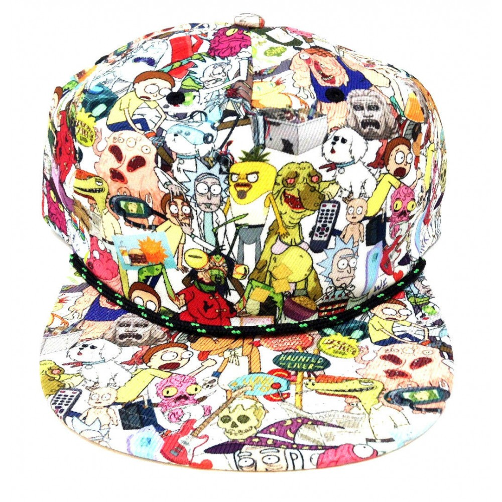Rick And Morty Characters Snapback