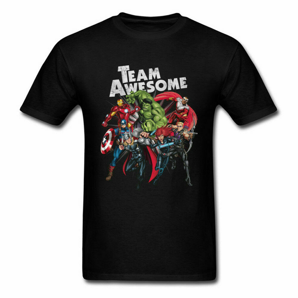Marvel Avengers Infinity War Retro Graphic Mens T-Shirt