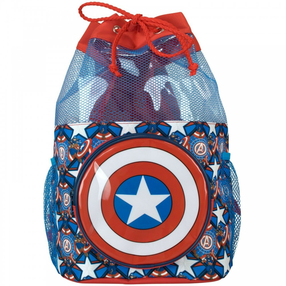 Captain America Swim Bag