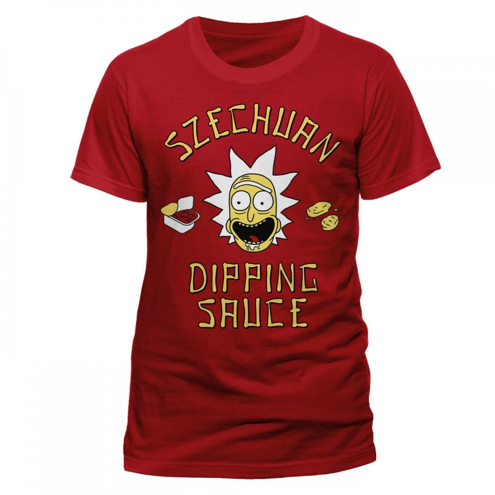 Rick And Morty Szechuan Dipping Sauce T-Shirt