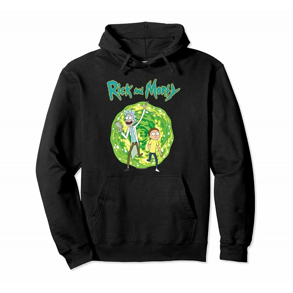 Rick And Morty Dimension Portal Hoodie