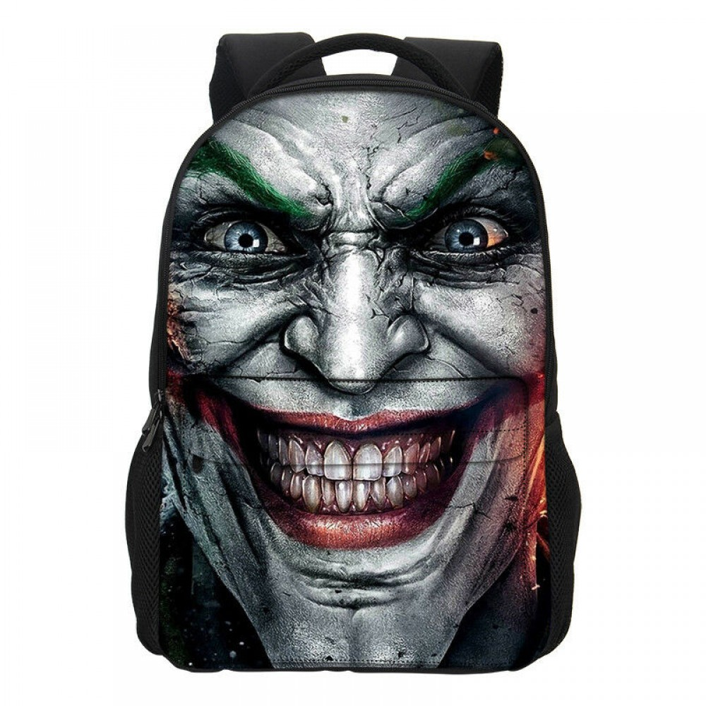 The Joker Scary Face Backpack