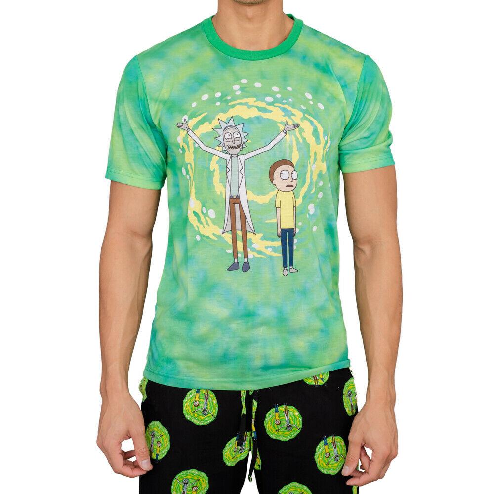 Rick And Morty Dimension Portal Pajama Set