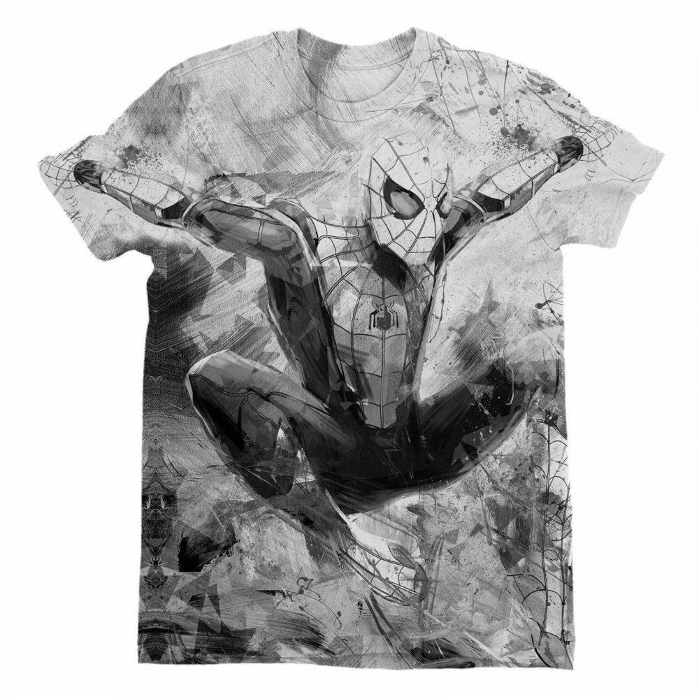 Marvel Spider-Man Far From Home Sublimation Men's T-Shirt