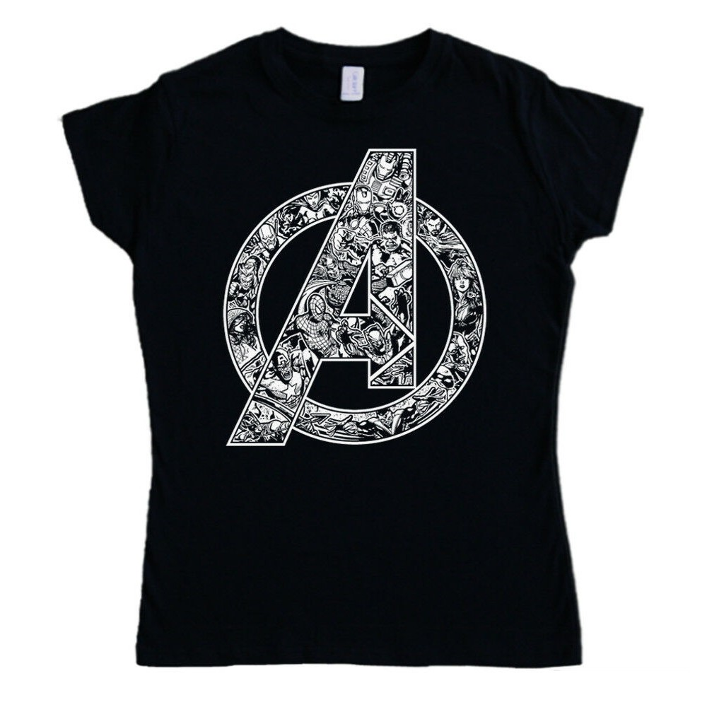 The Avengers Logo Women's T-shirt