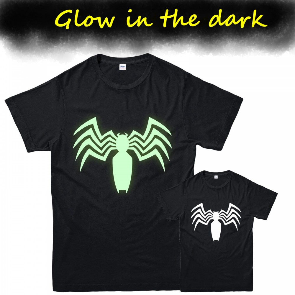Venom Marvel Glow In Dark Kids T-shirt