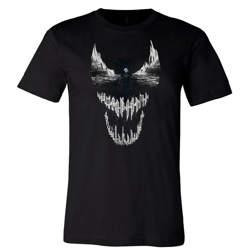 Venom Marvel Symbiote City Kids T-shirt